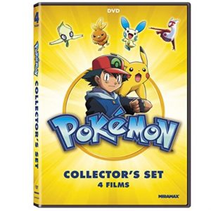 Pokémon Collectors 4-Film Set on DVD only $4.99, Free Shipping Eligible!