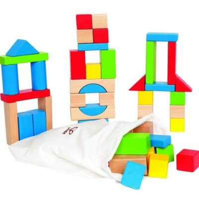 Save 55% on the Hape Maple Wood Kid's Building Blocks, Wooden Marble Run And Other Hape Toys Today Only, Free Shipping Eligible!