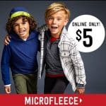 Crazy8 Online Sale: Up to 75% off Entire Store, $5 Microfleece + Free Shipping!