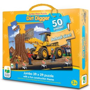 Save 56% on the Jumbo Dirt Digger Floor Puzzle, Free Shipping Eligible!