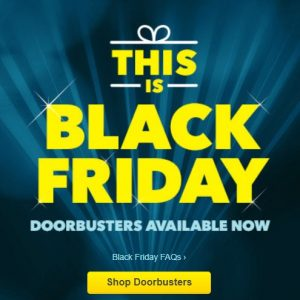 Best Buy Black Friday Doorbusters Available Online! Save $80 on Apple iPad and More!