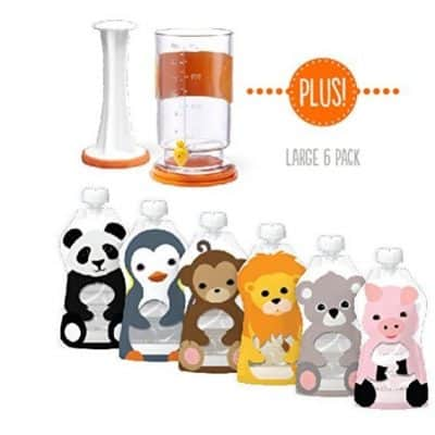 Save 54% on the Squooshi Filling Station + 6 Baby Food Pouches, Free Shipping Eligible!