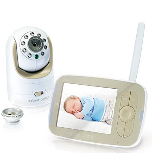 save 46 on the infant optics dxr 8 video baby monitor with interchangeable optical lens free. Black Bedroom Furniture Sets. Home Design Ideas