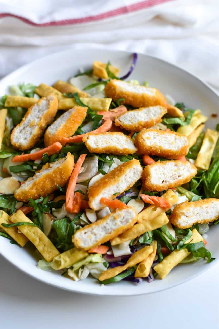 kid friendly asian chicken salad