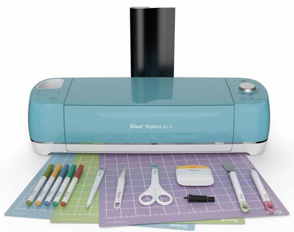 Cricut Explore Air 2 essentials bundle sky blue