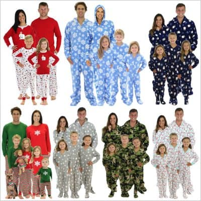 The Best Family Xmas Pajamas to Buy on Black Friday