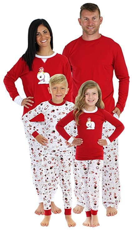 Penguins and Polar Bears Matching Family Pajamas