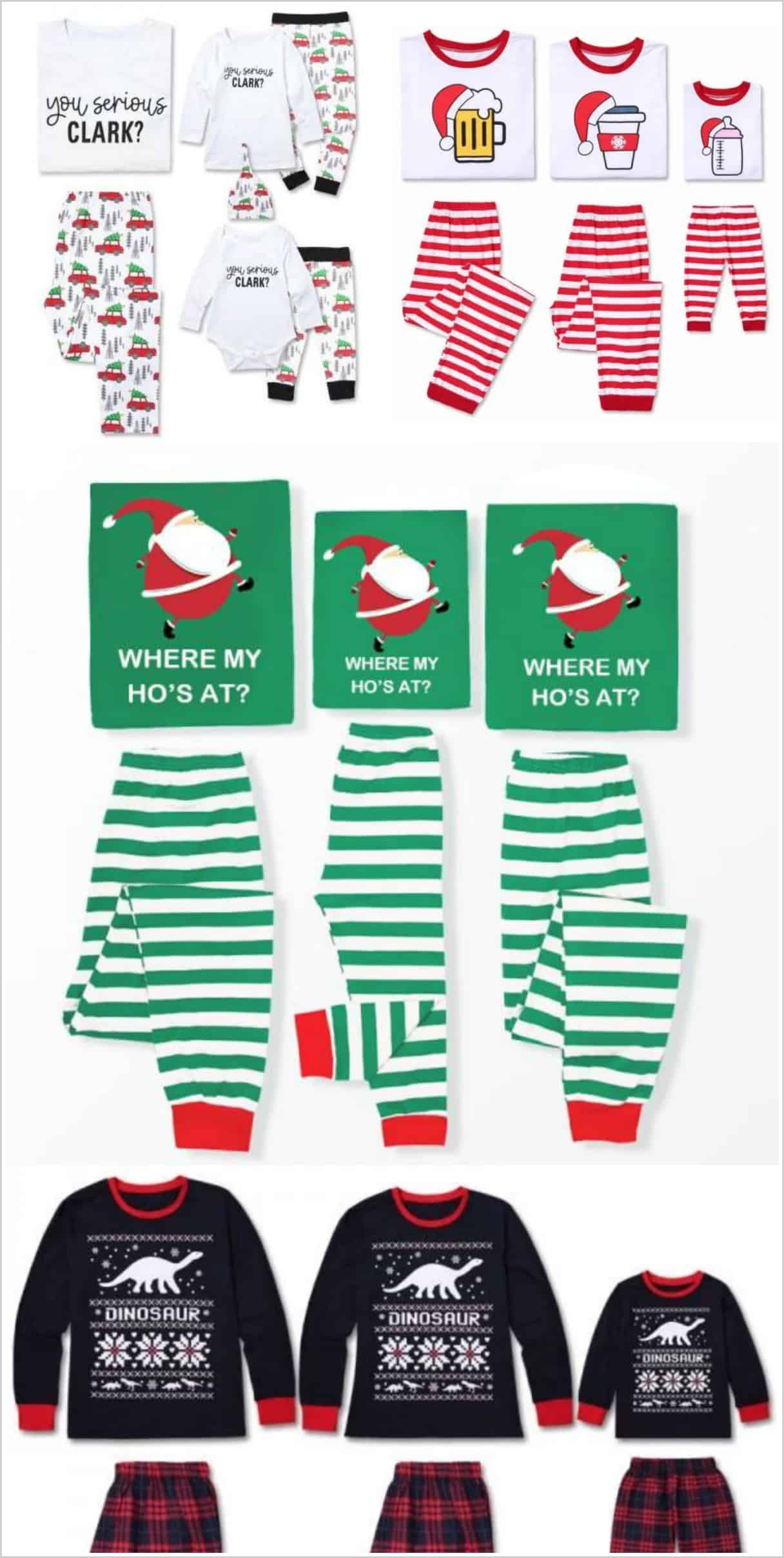 74de28e67 The Best Selection of Matching Funny Family Christmas Pajamas