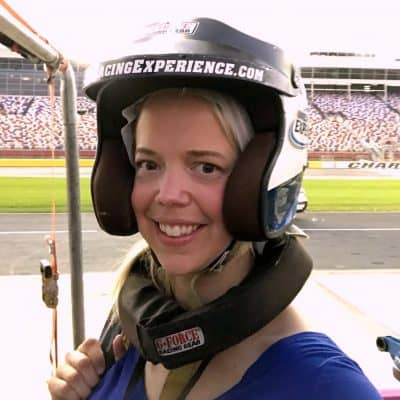 A Real NASCAR Ridealong at Charlotte Motor Speedway #Cars3Bloggers