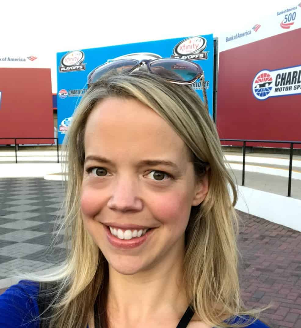 Real NASCAR ridealong charlotte modor speedway