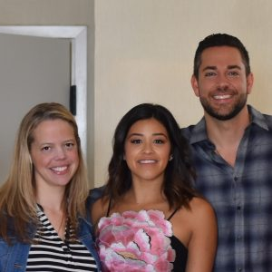 Zachary Levi, Gina Rodriguez and Patricia Heaton on The Star and Holiday Traditions #TheStarMovie