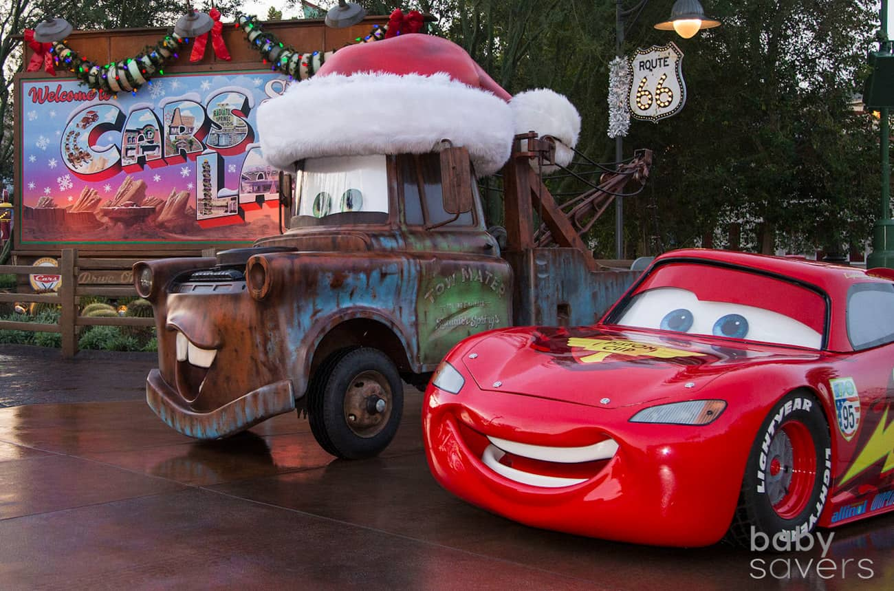 Best disneyland Christmas Cars Land