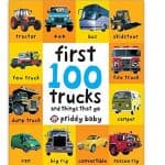Kids Board Books Up to 70% off (First 100 Trucks: And Things That Go only $2.35!), Free Shipping Eligible!