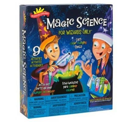 Save 61% on the Scientific Explorer Magic Science Kit for Wizards Only, Free Shipping Eligible!