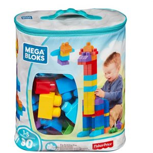Save 60% of the Mega Bloks First Builders Big Building Bag, 80-Piece, Free Shipping Eligible!