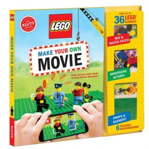 Save 25% on the KLUTZ LEGO Make Your Own Movie Kit, Free Shipping Eligible!
