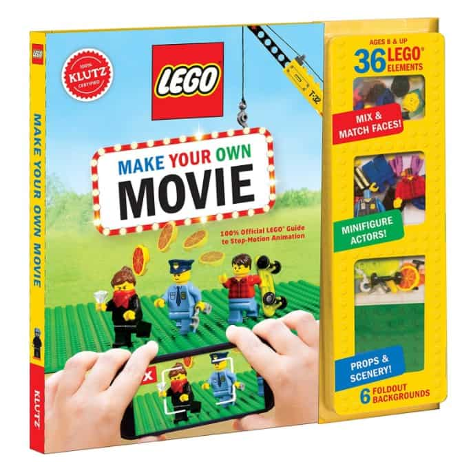 Save 25 On The Klutz Lego Make Your Own Movie Kit Free
