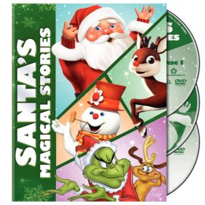Save 67% on the Santa's Magical Stories Box Set on DVD, Free Shipping Eligible!