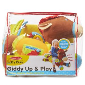 Save 46% on the Melissa & Doug Giddy-Up and Play Baby Activity Toy – Multi-Sensory Horse, Free Shipping Eligible!
