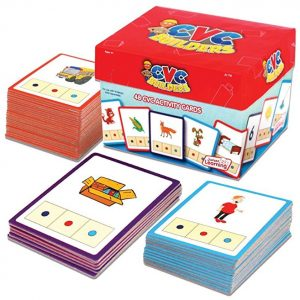 Save 51% on the Junior Learning CVC Word Builders Activity Cards, Free Shipping Eligible!