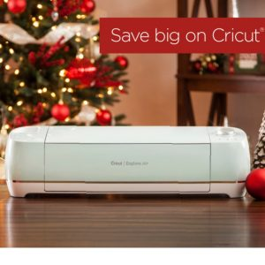 Cricut 12 Days of Christmas: Save Over 50% off Everything Starter Set and Cricut Machines as low as $134.99! Free Express Shipping!