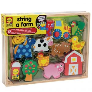 Save 48% on the ALEX Toys Little Hands String A Farm, Free Shipping Eligible!