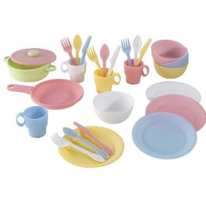 Save 53% on the KidKraft 27pc Cookware Set, Free Shipping Eligible!