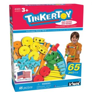 Save 57% on the TINKERTOY 65 Piece Essentials Value Set, Free Shipping Eligible!