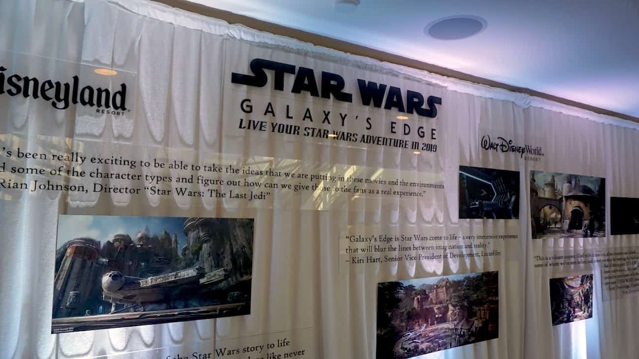 Star Wars press junket experience