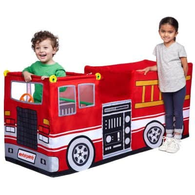 antsy pants build and play fire truck review