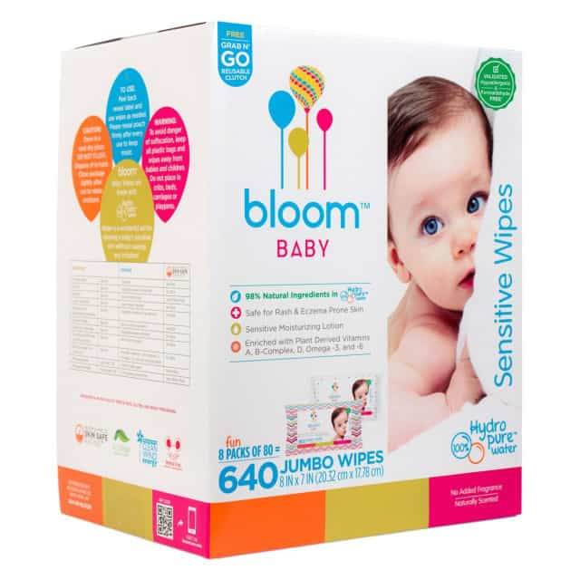 bloom baby wipes review