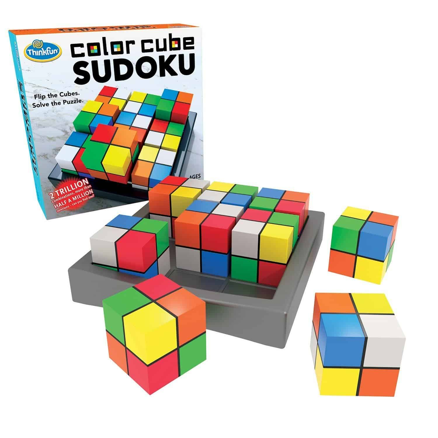 color cube sudoku review