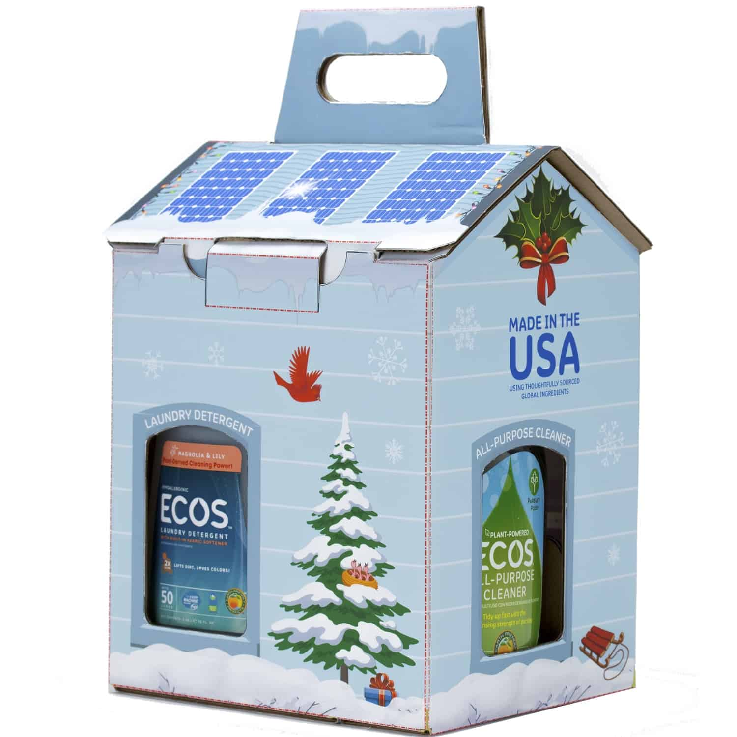 Ecos holiday cleaning set review