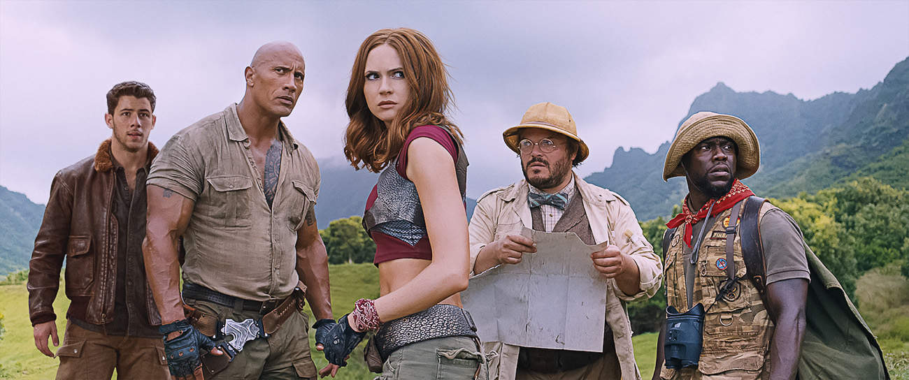 jumanji press junket interview
