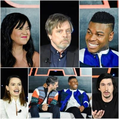 The Last Jedi Press Junket – Interviewing the Cast of Star Wars: The Last Jedi
