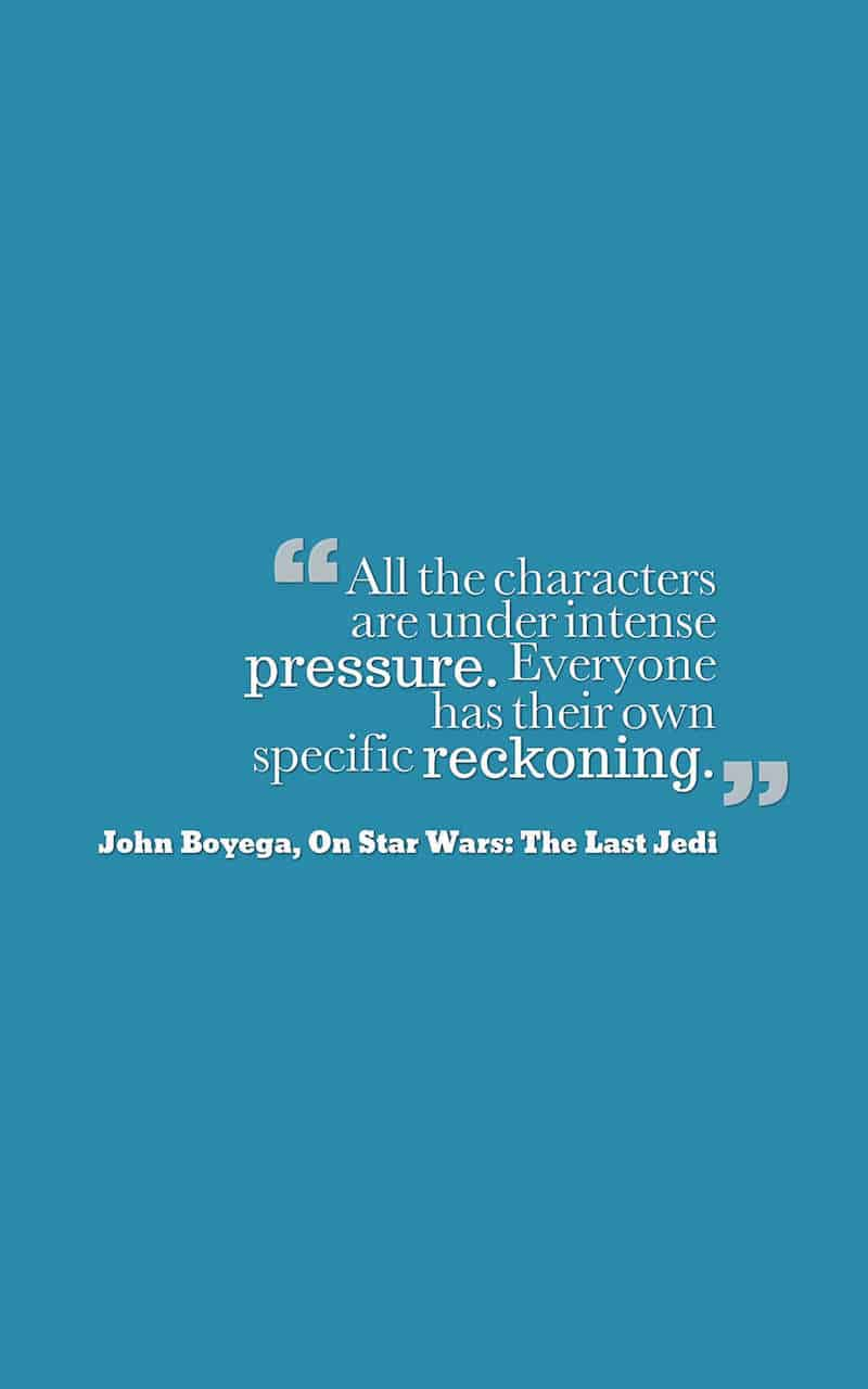 The last jedi press junket quotes