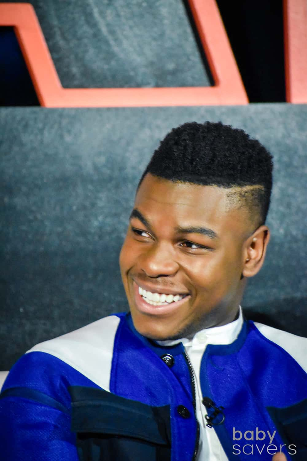 The Last Jedi press junket John Boyega
