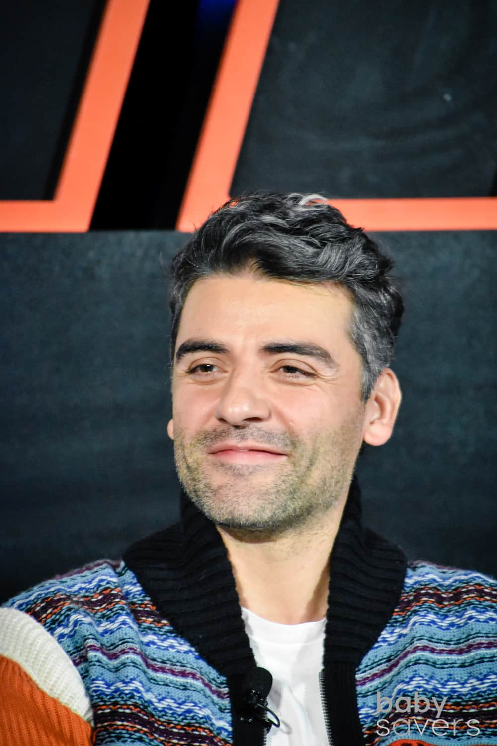 The Last Jedi press junket Oscar Issac