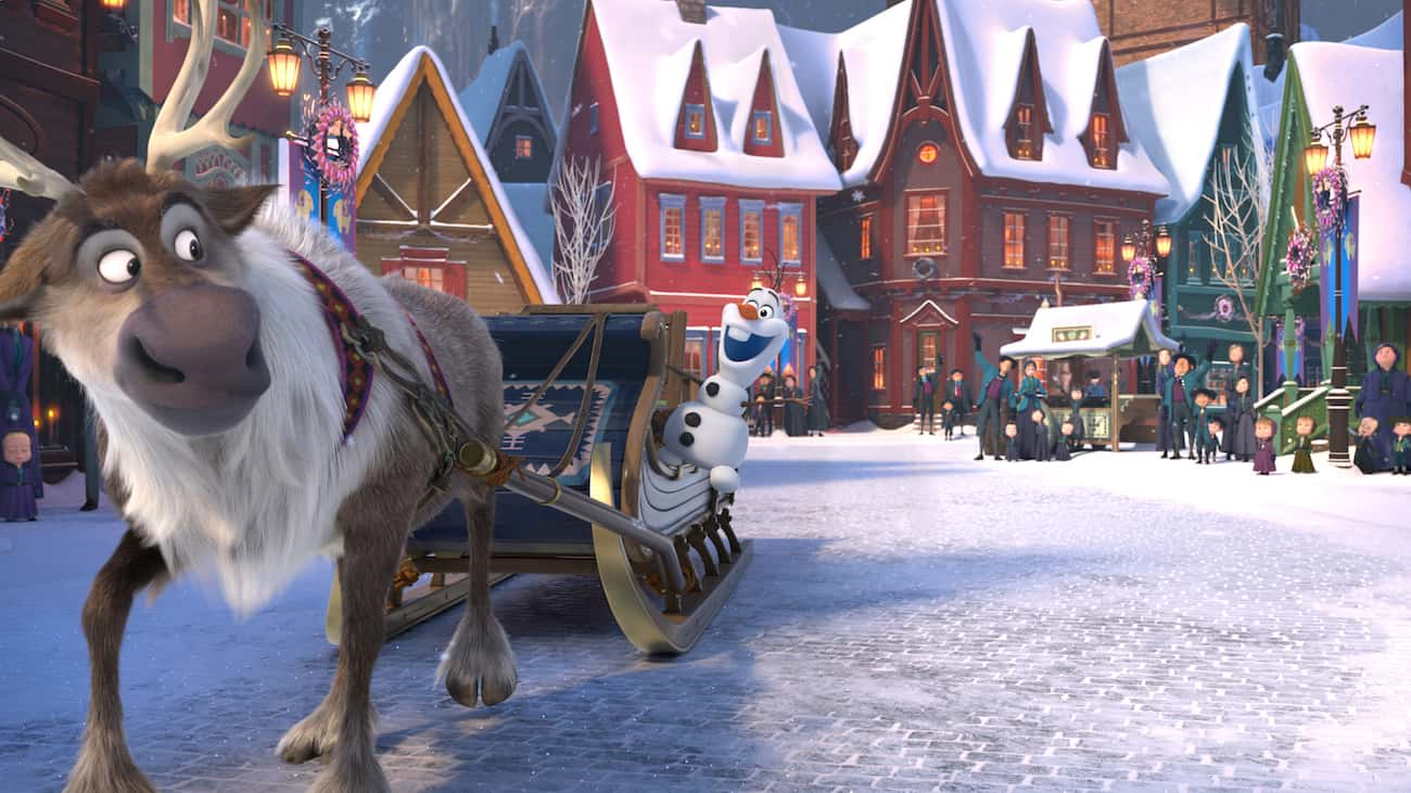 Where to watch olaf's frozen adventure