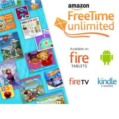 30-Day Free Trial of Amazon FreeTime Unlimited {Access to 13,000 kids books, movies, TV shows, educational apps, and games.}
