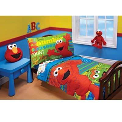 Save 39% on the Sesame Street ABC 123 4 Piece Toddler Set, Free Shipping Eligible!