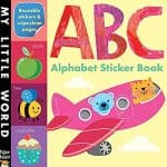 Save 39% on the ABC Alphabet Sticker Book {Only $2.43!}, Free Shipping Eligible!