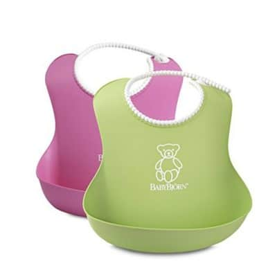 Save 54% on the BABYBJORN Soft Bib 2-Pack, Free Shipping Eligible!