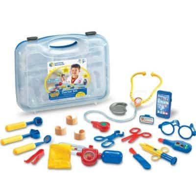 Save 45% on the Learning Resources Pretend & Play Doctor Set, Free Shipping Eligible!