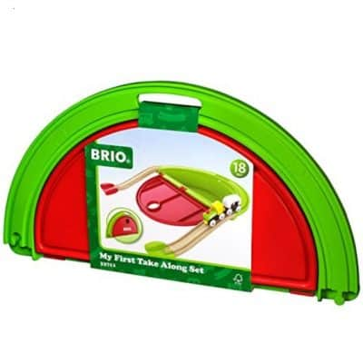Save 71% on the BRIO My First Take Along Train Set, Free Shipping Eligible!