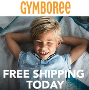 Gymboree Online Sale: 50% off Entire Order + Free Shipping on All Orders!