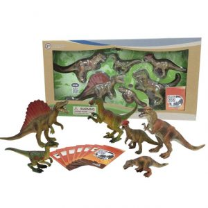 Save 50% on the Nature Bound Dinosaur Safari Toys Large Set with Collector Cards, Free Shipping Eligible!