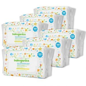 Amazon Coupon Deal: Save Extra 30% on Babyganics Hand & Face Wipes (600 count only $12.96), Free Shipping Eligible!