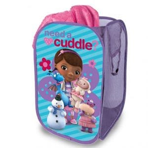 Save 42% on the Disney Doc McStuffins Pop Up Hamper {Great for Stuffed Animal Storage!}, Free Shipping Eligible!