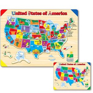 Save 47% on the The Learning Journey Lift & Learn USA Map Puzzle, Free Shipping Eligible!
